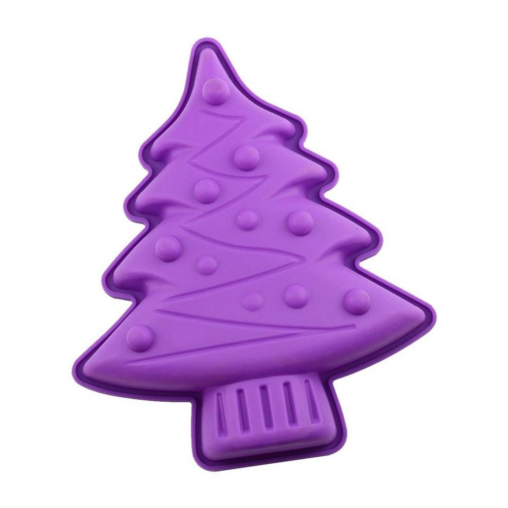 Molde de silicona arbol navidad 1