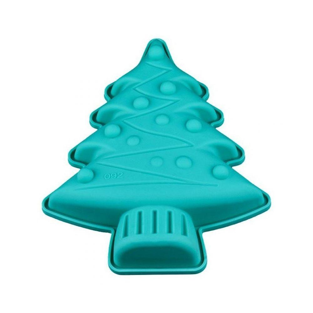 Molde de silicona arbol navidad 4