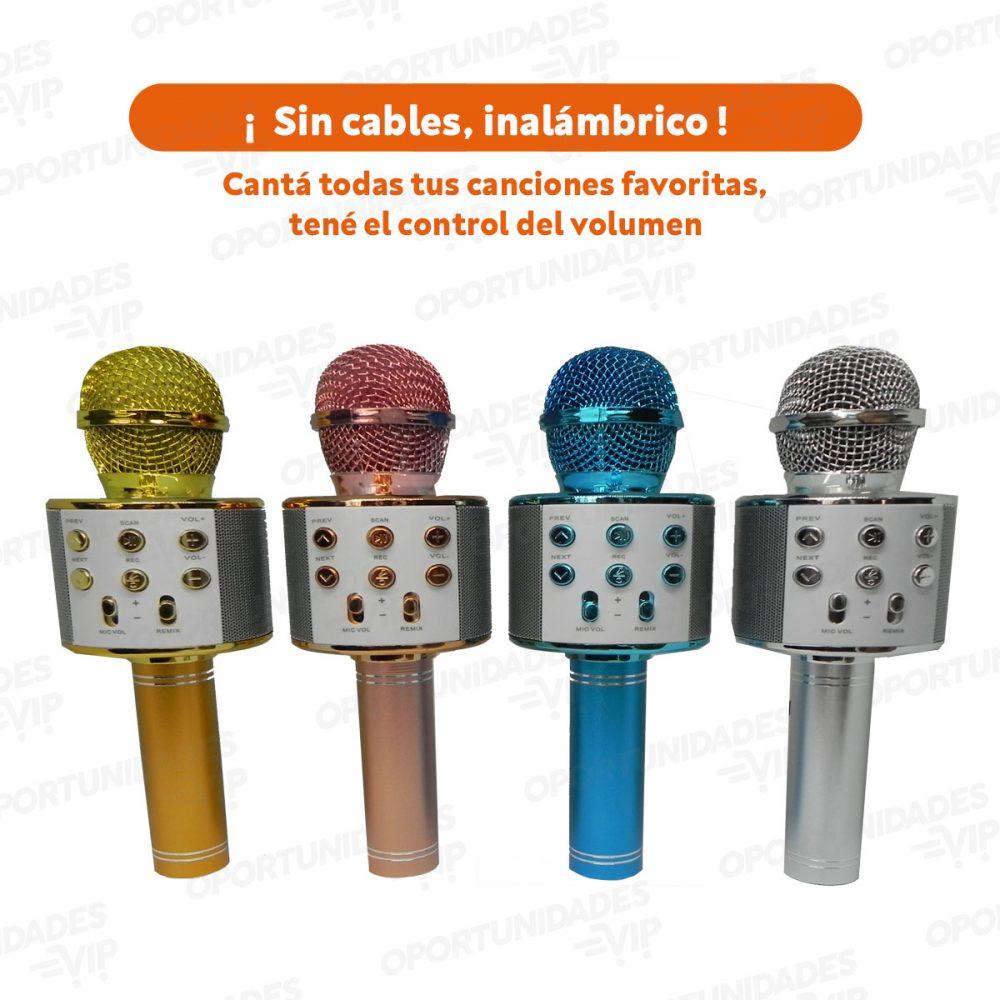 Plantilla Microfono caracteristica escrita horizontal