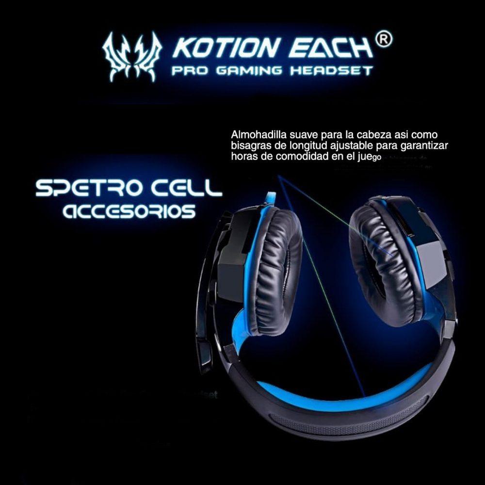 auriculares kotion each G2000 3