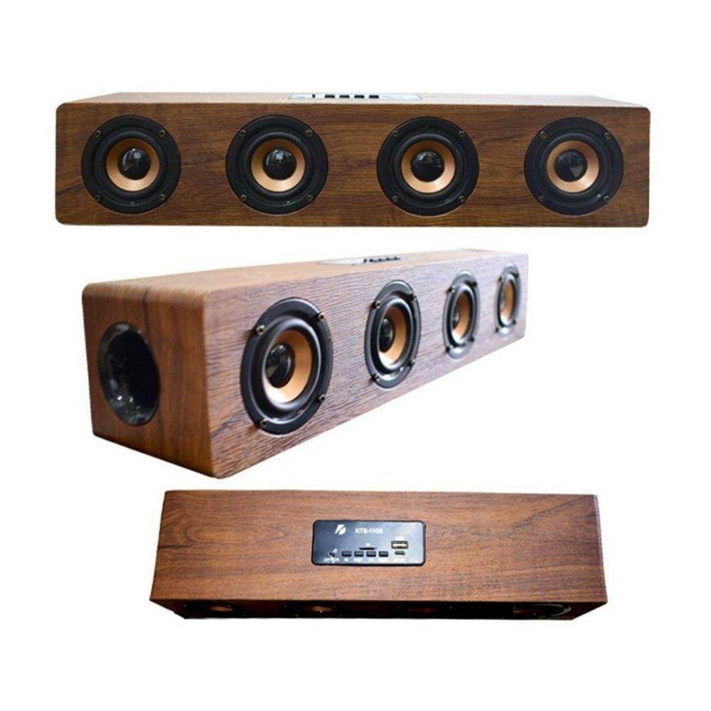 barra de sonido madera 1