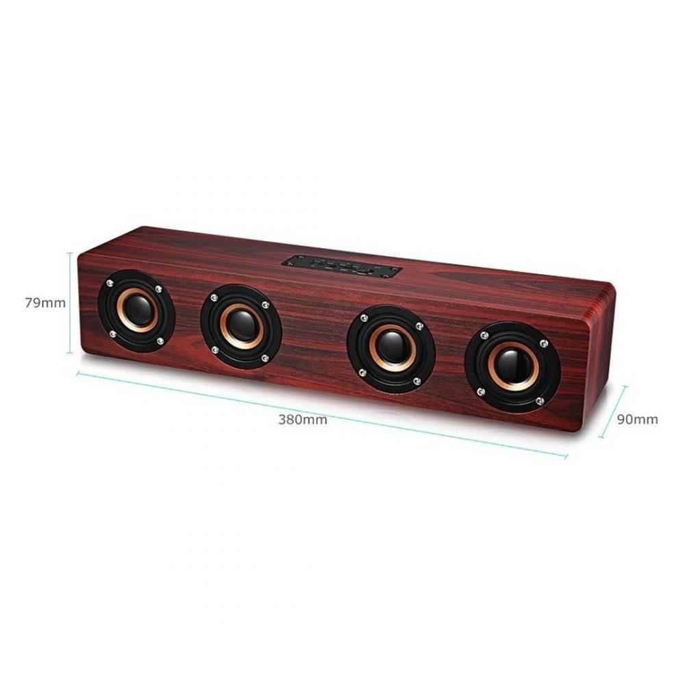 barra de sonido madera 3