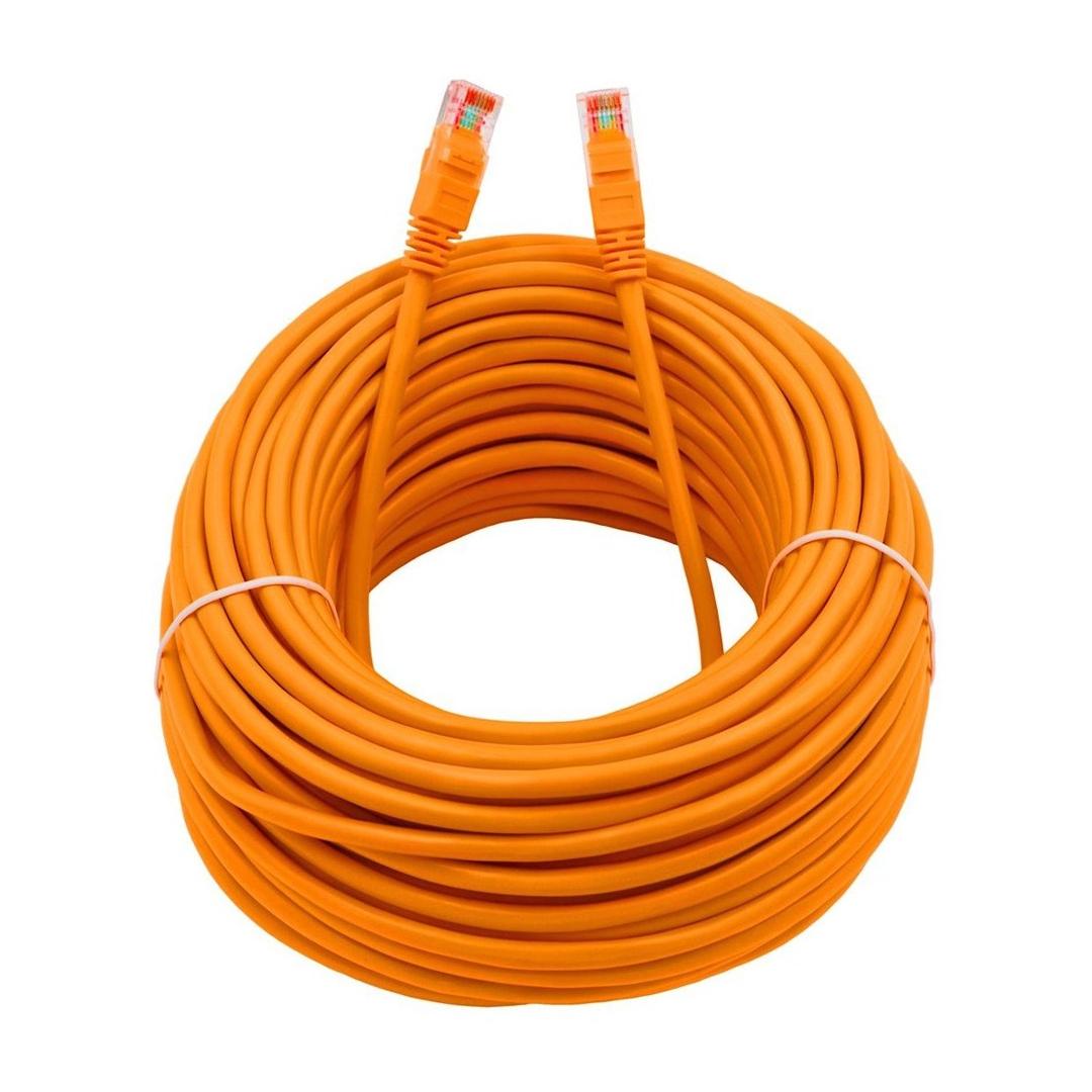 cable de red amarillo categoria 6e