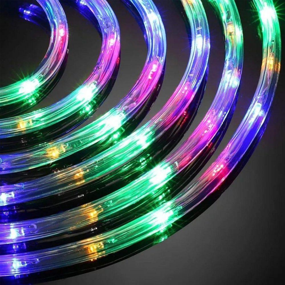 manguera led multicolor rgb de 10 mts controlador de efectos D NQ NP 757794 MLA32749690173 112019 F