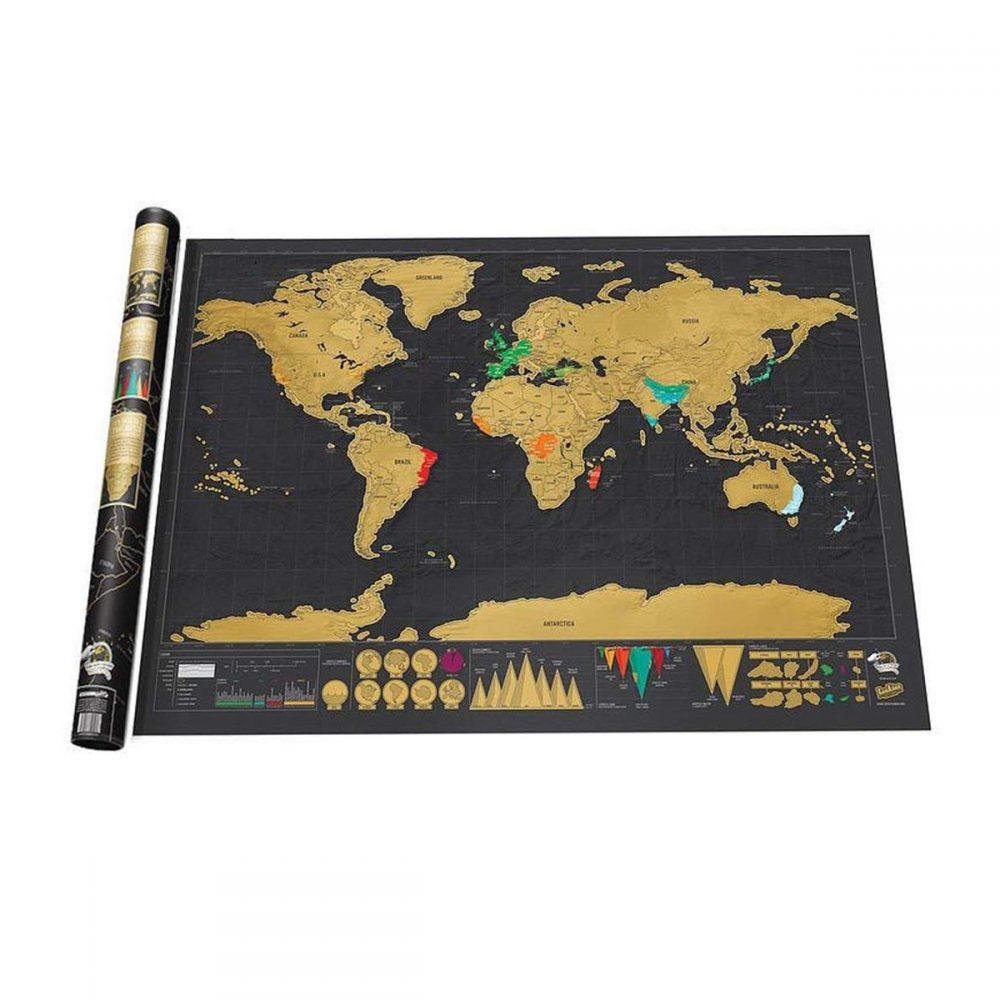 mapa rasca dorado negro 1