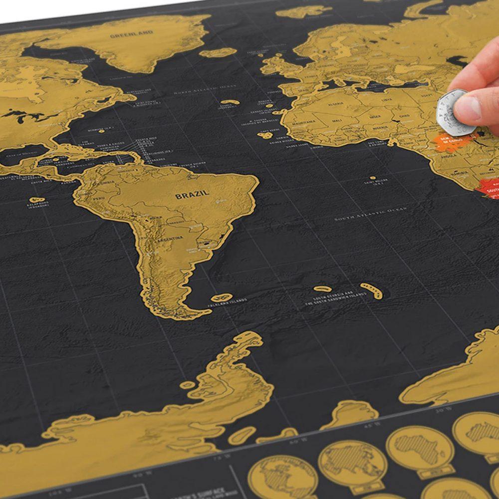 mapa rasca dorado negro 2