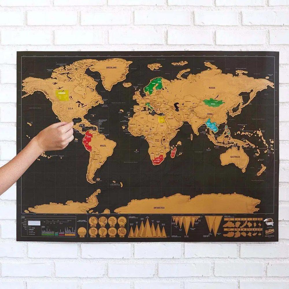 mapa rasca dorado negro 3