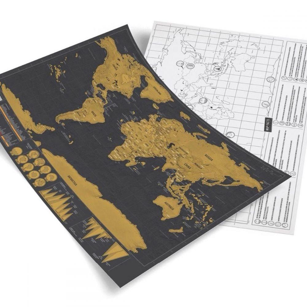 mapa rasca dorado negro 4