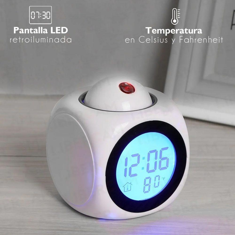 reloj ovalado proyector 6