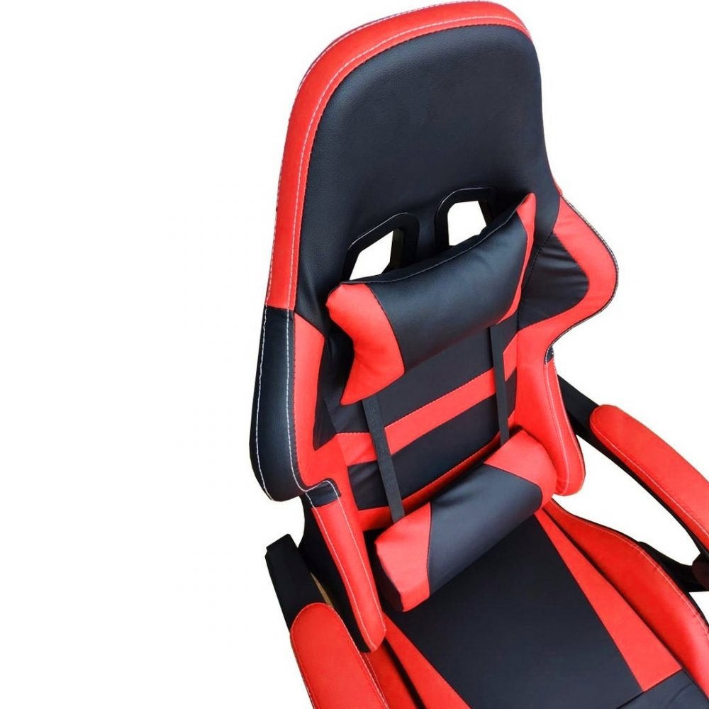 silla gamer roja 3