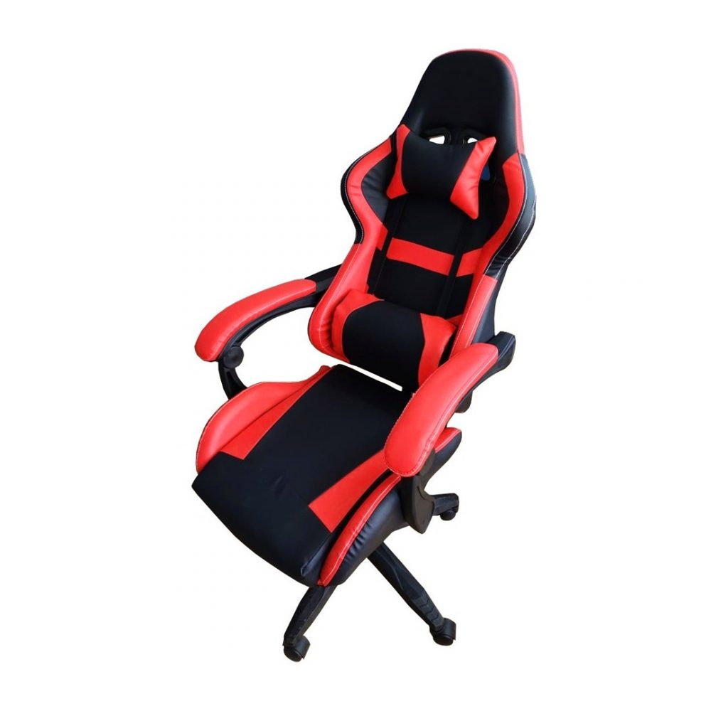 silla gamer roja 4