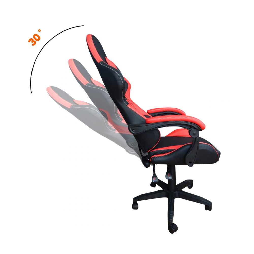 silla gamer roja 6