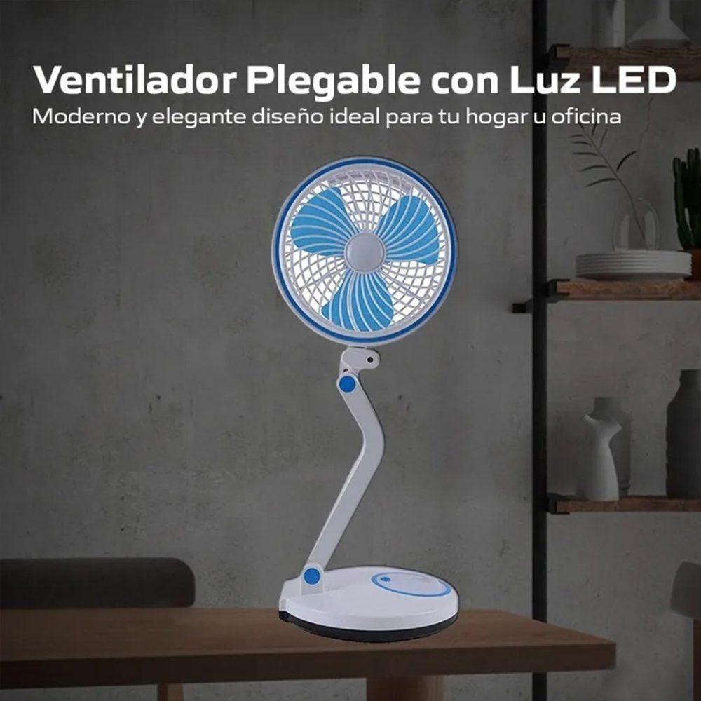 ventilador plegable lampara 1