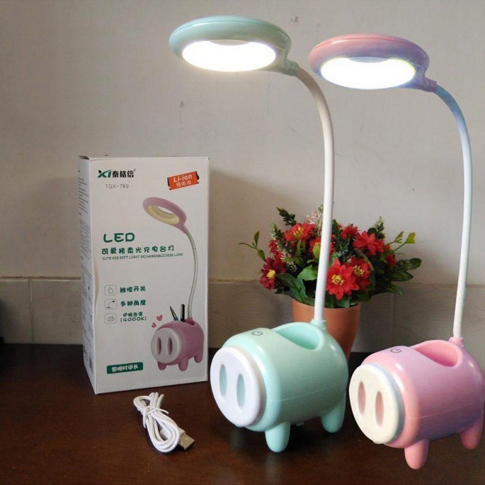 lampara cerdo tactil 1