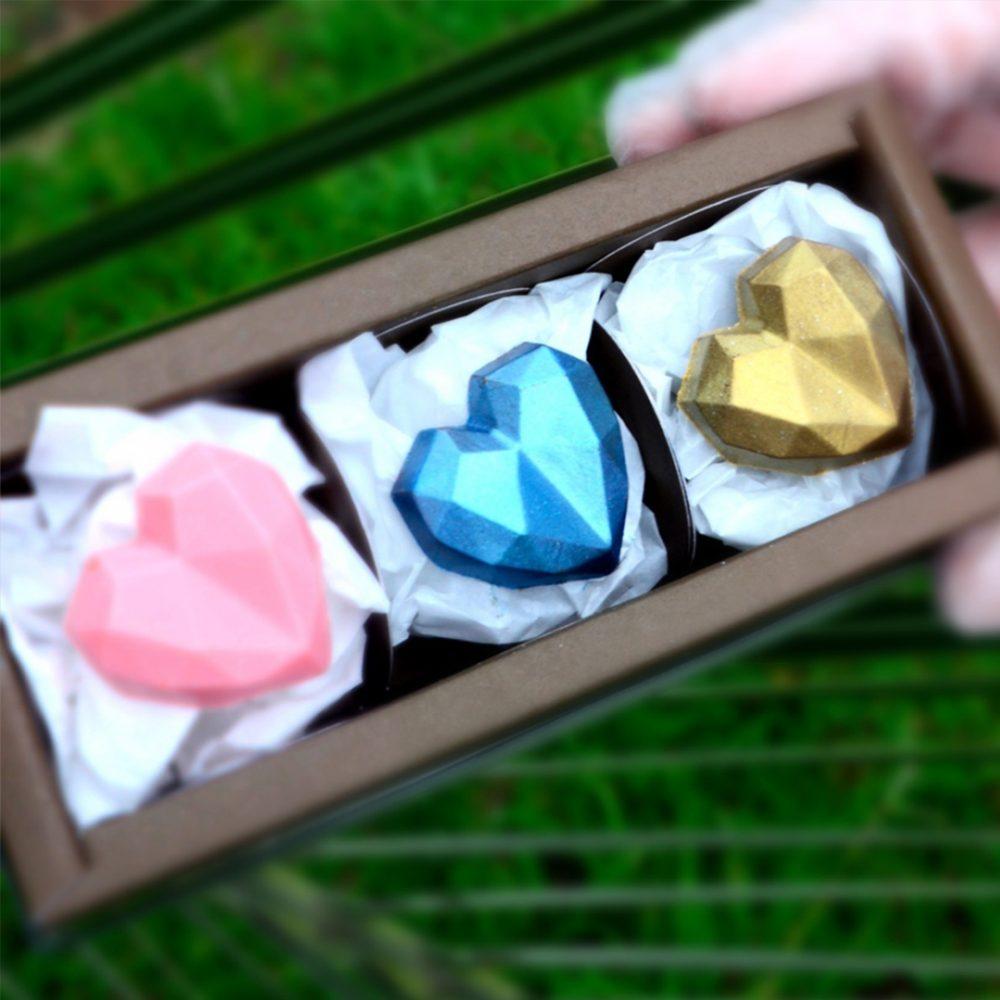 molde corazon cristal 1