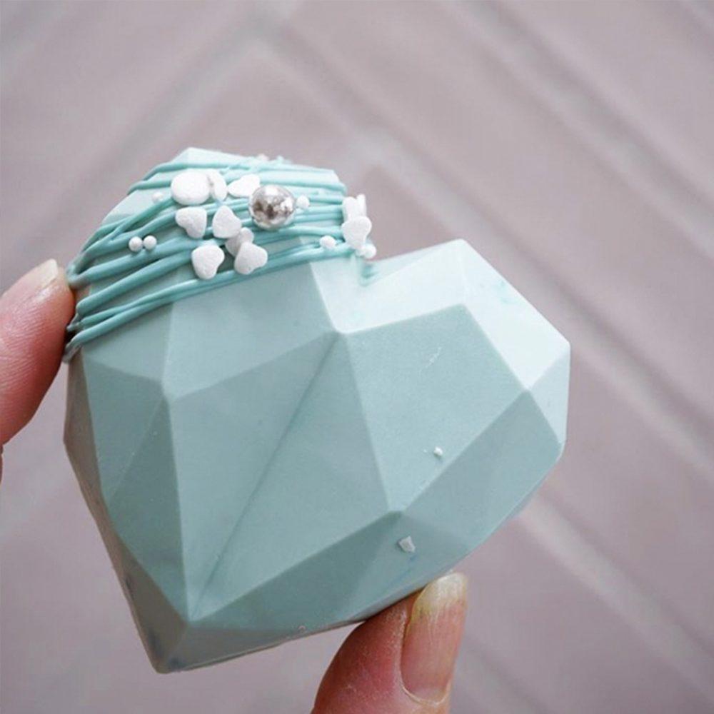 molde corazon cristal 3