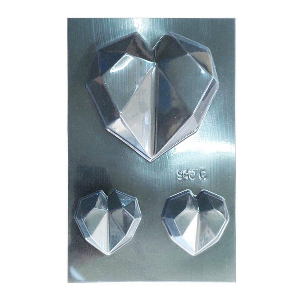 molde corazon cristal 4