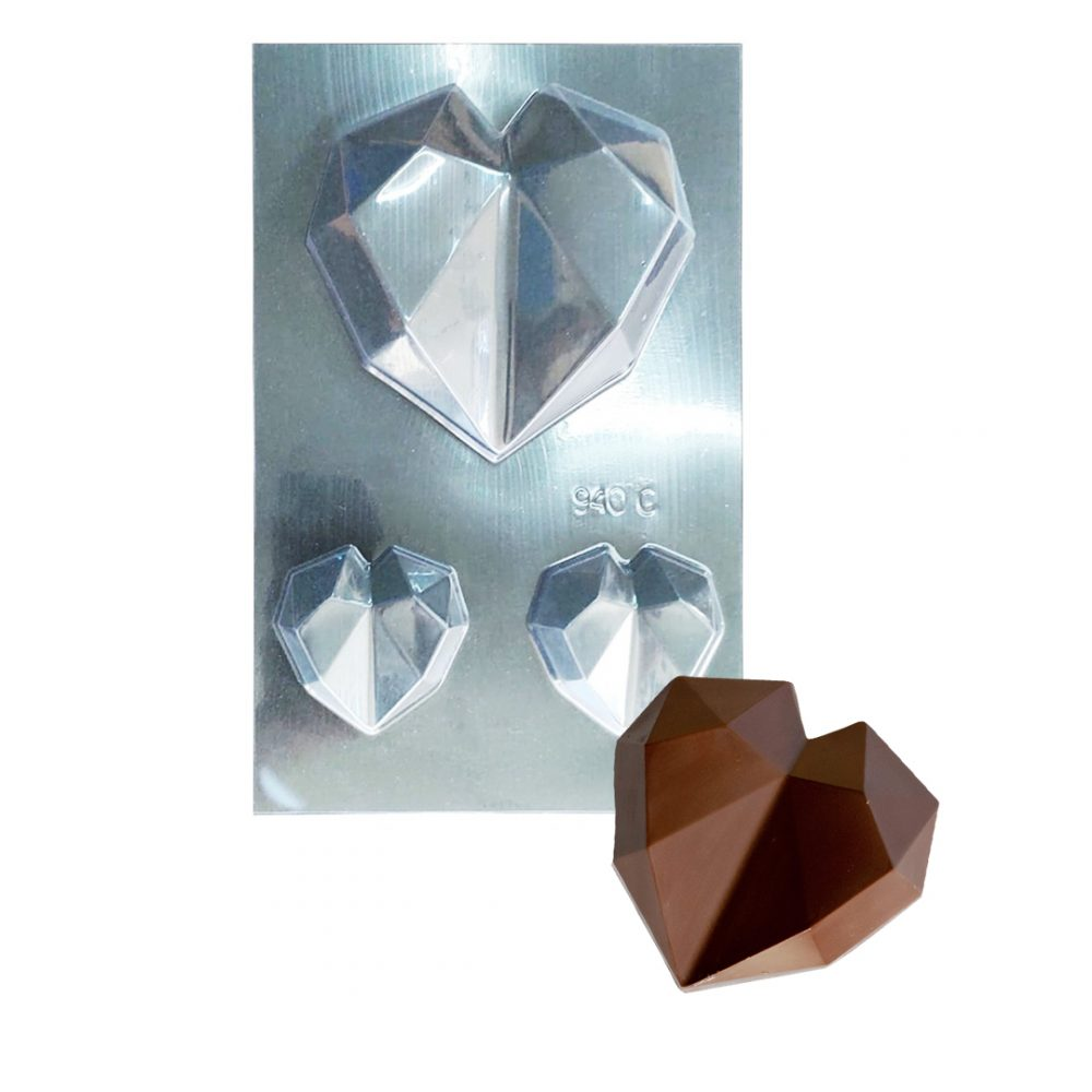 molde corazon cristal 6