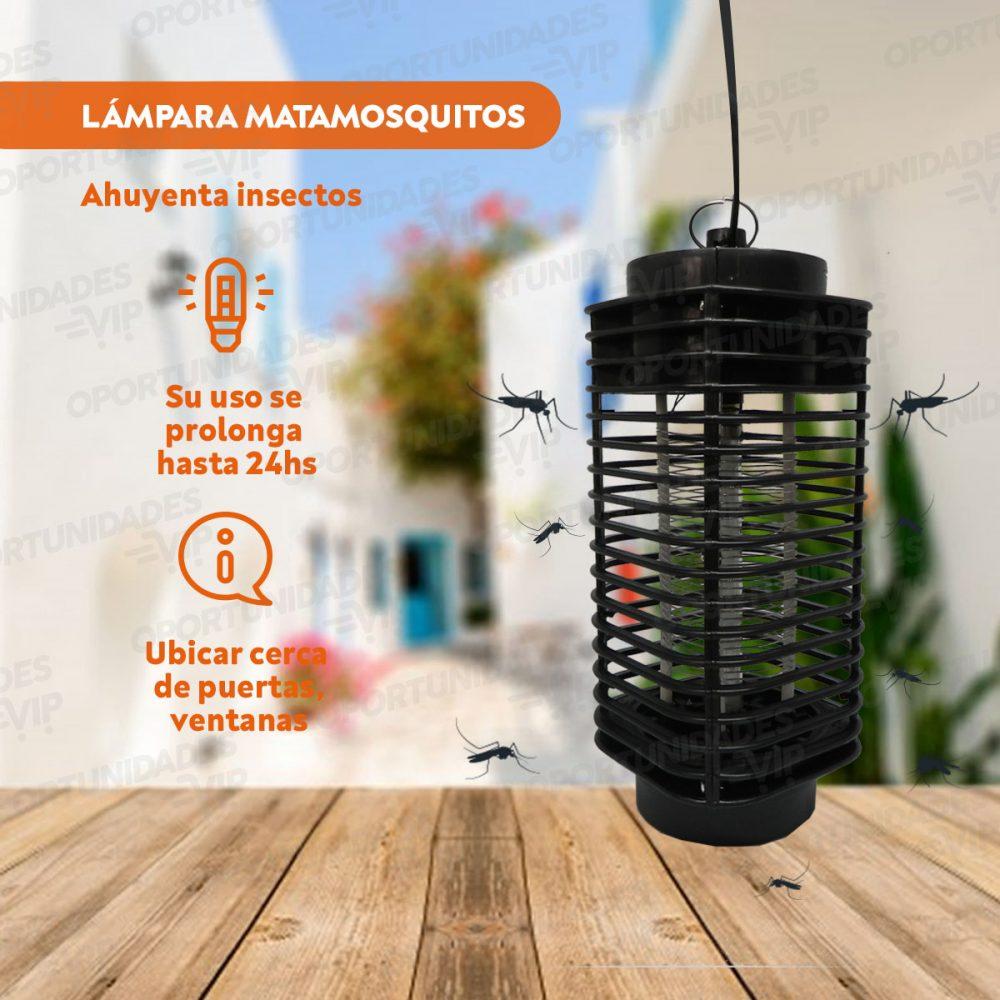 Plantilla Lampara Mosquitos Luz