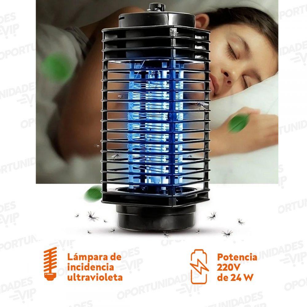 Plantilla Lampara Mosquitos Luz UV Marca de Agua