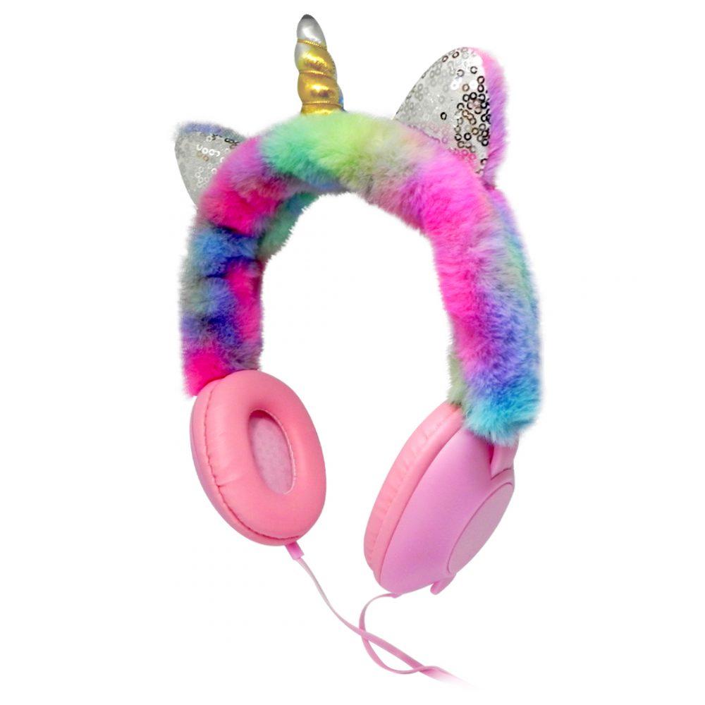 auricular peluche unicornio 1