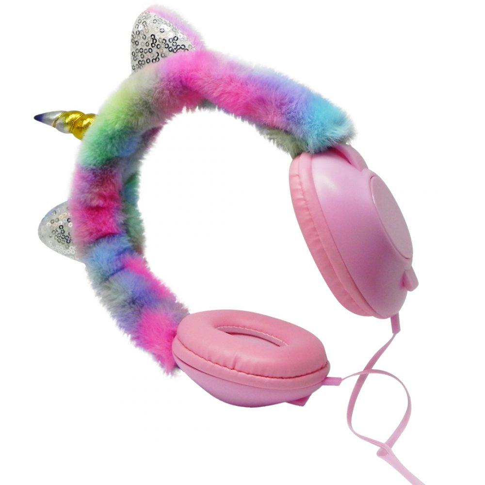 auricular peluche unicornio 2