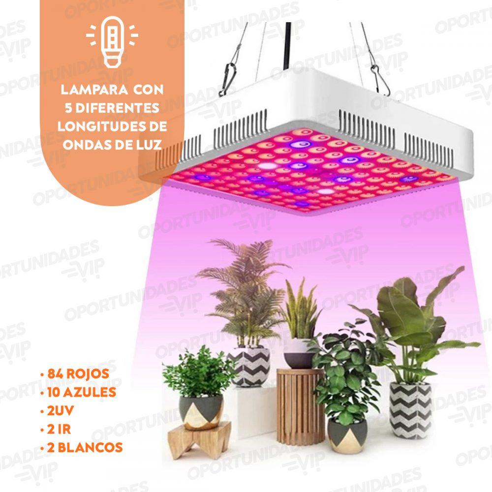 espectro de led lampara grow