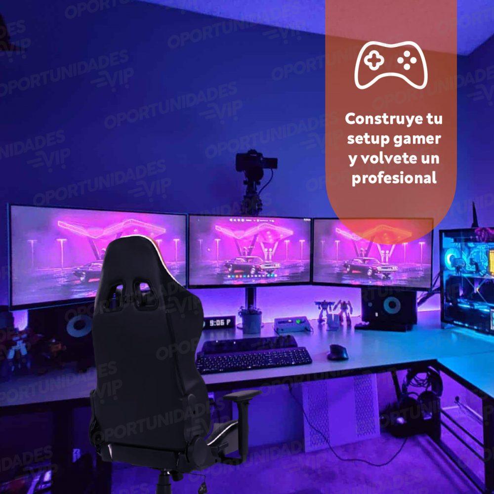 silla gamer ajhh Sg004 gris 4