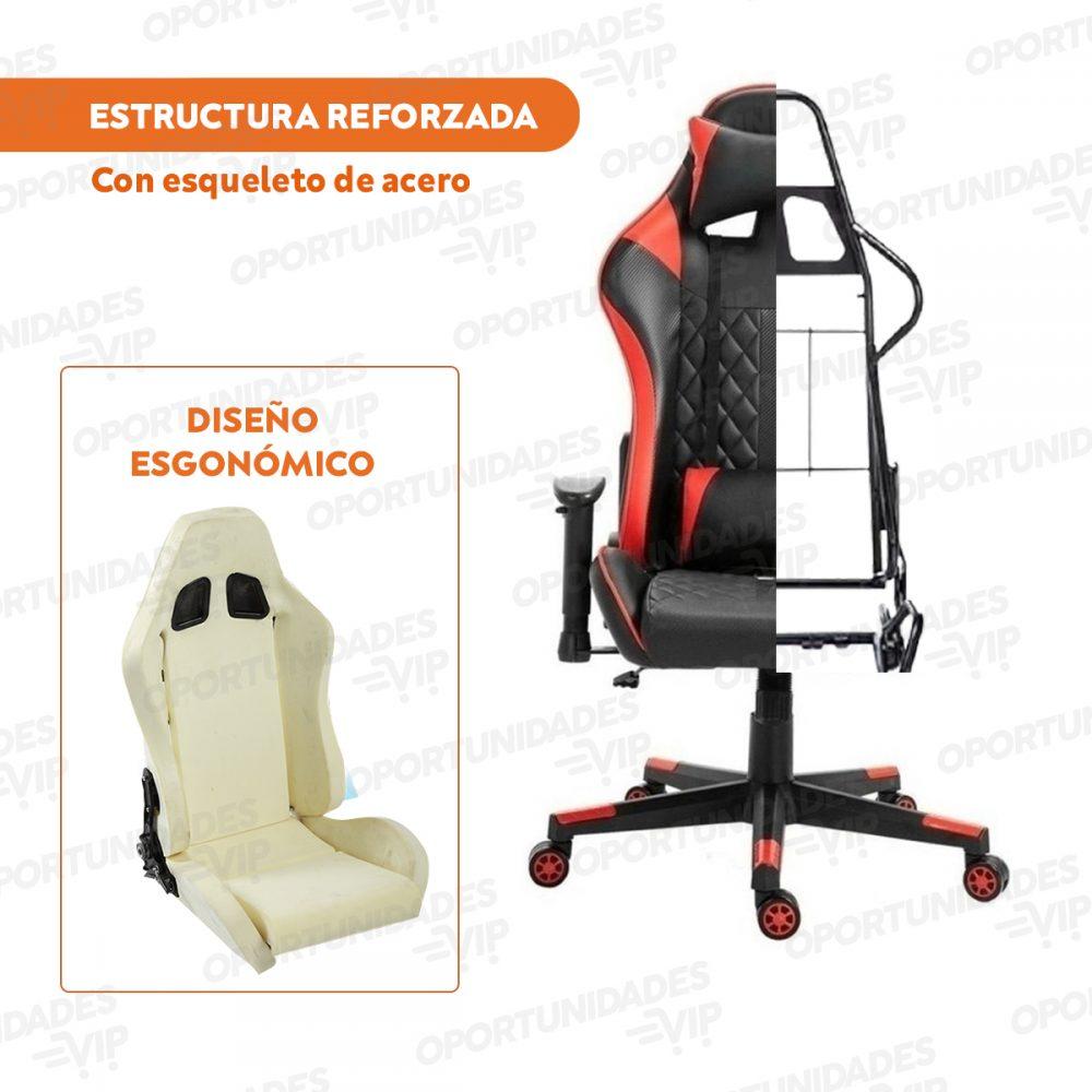 silla gamer ajhh negrao y rojo 2 1