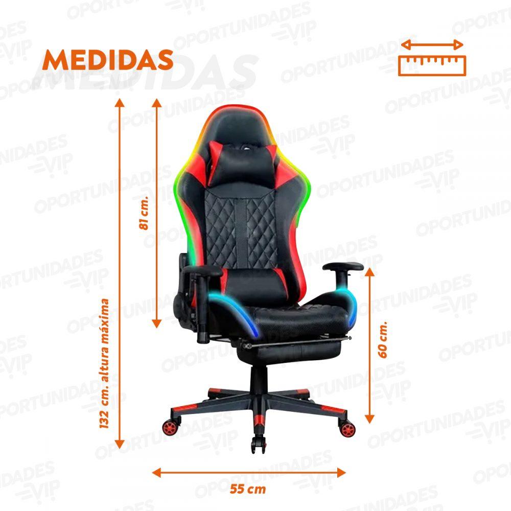 silla gamer ld roja SG003L 6 1