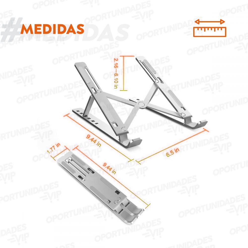 soporte notebook aluminio plegable 1