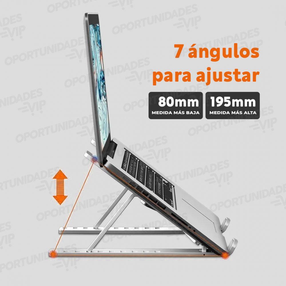 soporte notebook aluminio plegable 3