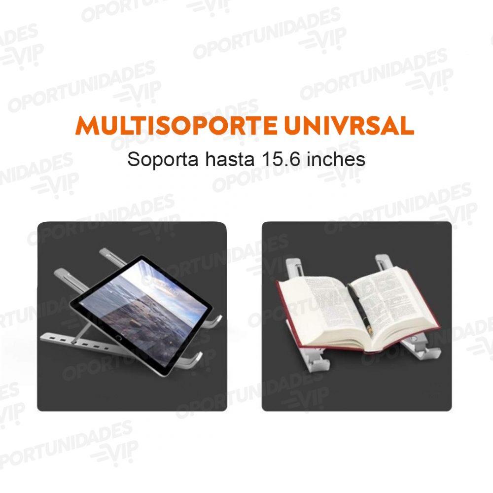 soporte notebook aluminio plegable 4