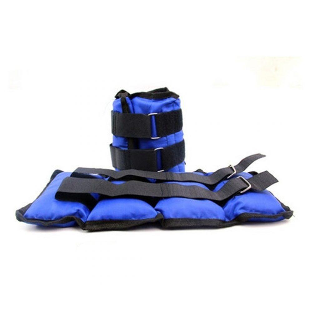 tobillera azul pesas 4
