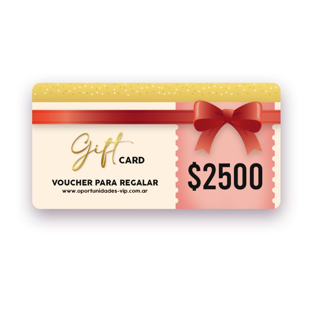giftcard 2500
